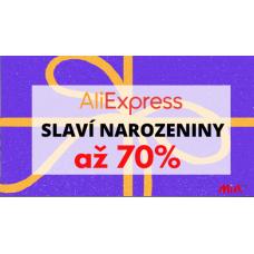 AliExpress slaví 10.narozeniny!