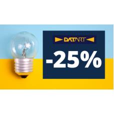 Slevy 25% na ETA žárovky v Datart