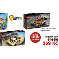 LEGO stavebnice se slevou 180 Kč