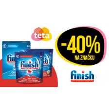 Slevy až 40% na značku Finish v TetaDrogerii