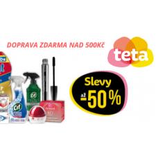 Slevy až 50% a doprava ZDARMA v TetaDrogerii