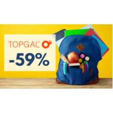 VÝPRODEJ školních batohů v Topgal.