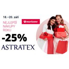 Spodní prádlo v Astratexu se slevou 25%