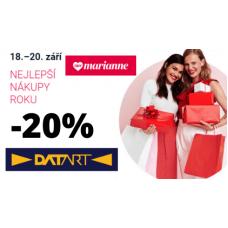 Sleva 20% v Datartu