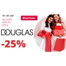 Sleva až 25% na vůně a kosmetiku v Douglas
