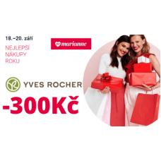 Sleva 300Kč na kosmetiku v YvesRocher