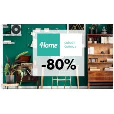 Bytové doplňky ve 4home se slevou až 80%