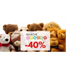 Báječné hračky se slevou až 40%