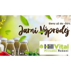Jarní VÝPRODEJ léčivých produktů v HillVital