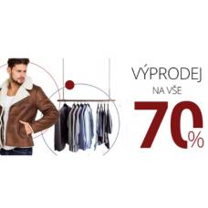 Jarní výprodej pánského oblečení v Manstyle. Slevy až 70%!
