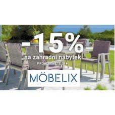Zahradní nábytek se slevou v Möebelixu