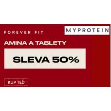 Sleva 50% na AMINA a tablety a další sleva 35% na vše