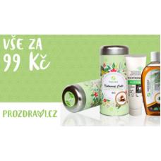 Přírodní produkty za 99Kč v Prozdraví.cz
