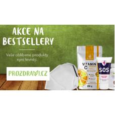 Akce na bestsellery v Prozdraví.cz! Slevy až 30%.