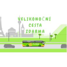 Velikonoční cesta ZDARMA s Flixbus
