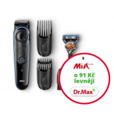 Chcete zastřihnout bradku či knír, udržovat strniště, nebo naopak plnovous, případně zkrátit vlasy?