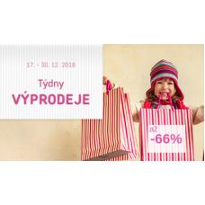 Mega výprodej - slevy až 66%