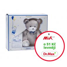 Jemná toaletní voda pro děti 50 ml v dárkovém balení s medvídkem.