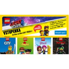 """Kup LEGO a dostaň vstupenku do kina  na film """"Lego příběh 2"""""""