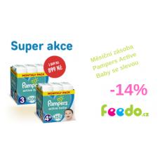 Měsíční zásoba Pampers Active Baby se slevou 14%!