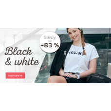 Black&White inspirace se slevou až 83%