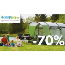Letní VÝPRODEJ outdoorového vybavení v 4camping.cz