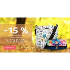 Dara bags_sleva na kabelky a peněženky