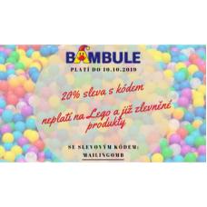 Sleva na hračky 20% v Bambuli