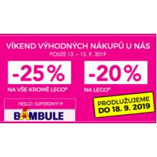 Sleva na hračky v Bambuli až 25%