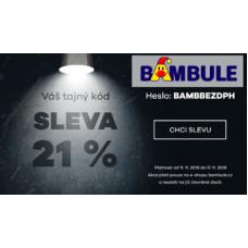 Slevy na hračky v BAMBULE 21% se slevovým kupónem