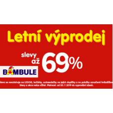 Letní VÝPRODEJ v BAMBULI. Slevy až 69%.