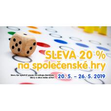 Sleva 20% na společenské hry v Bambuli
