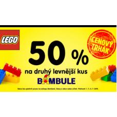 Oblíbené dětské LEGO se slevou až 30% v BAMBULI