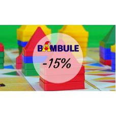 Sleva 15% na hračky v Bambuli.