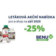 Akční nabídka v BENU. Slevy až 25%.