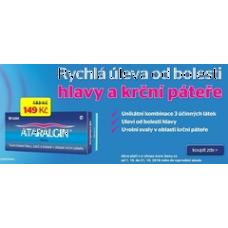 Benu - ATALARGIN - rychlá úleva od bolesti hlavy a páteře (balení 50 tablet)