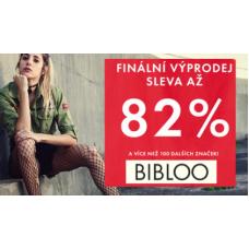 Finální výprodej v Bibloo. Slevy až 82% + dodatečná sleva 10%