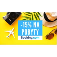 Pobyty se slevou 15% v Booking.com
