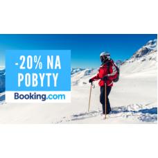 Sleva na zimní pobyty 20% v Booking