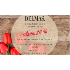 Módní doplňky s 20% slevou v Delmas