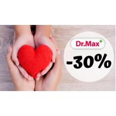 Vánoce s lékárnou Dr.Max..to jsou slevy až 30%