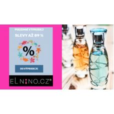 Podzimní výprodej kosmetiky v Elnino
