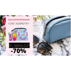 Cestovní kosmetika se slevami až 70%