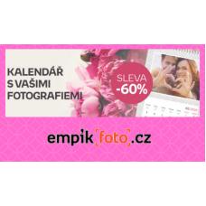 Kalendář s vašemi fotografiemi nyní se slevou 60%. Mějte Valentýna celý rok!