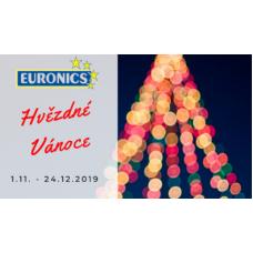 Hvězdné Vánoce v Euronics jsou tu! Slevy až 40%