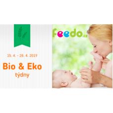 BIO_Eko produkty pro vaše nejmenší nyní ve Feedu se slevou až 30%