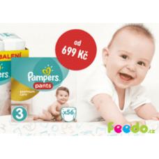 Pampers Premium Care v akci. Sleva až 30%