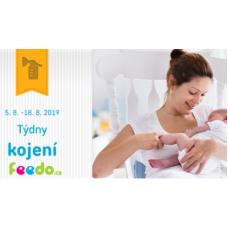 Týdny kojení ve Feedo se slevami až 44%