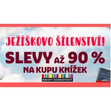 Vánoční šílenství v Knihy Dobrovský je tu! Slevy až 90%.