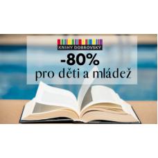 Sleva až 80 % na knížky nejen pro děti